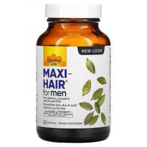 Витамины для кожи и волос,Country Life, Мужчин