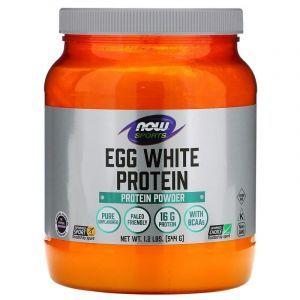 Яичный протеин, Now Foods, 544 г