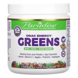 ОРАС антиоксиданты, ORAC-Energy, Paradise Herbs, 91 г