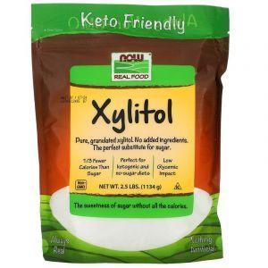 Ксилитол (сахарозаменитель), Now Foods, 1134 г