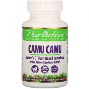 Каму-каму (витамин-С), Camu Camu, Paradise Herbs, 60 капсул