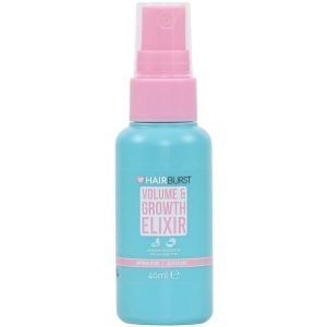 Спрей для роста и объема волос, Volume & Growth Elixir Spray, Hairburst, мини, 40 мл