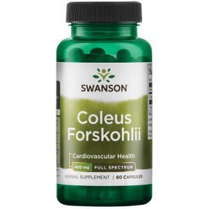 Форсколин, Coleus Forskohlii 10%, Vital Nutrients, 90 мг, 60 вегетарианских капсул