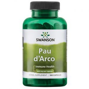 По д'арко, Pau D'Arco, Swanson, 500 мг, 100 капсул