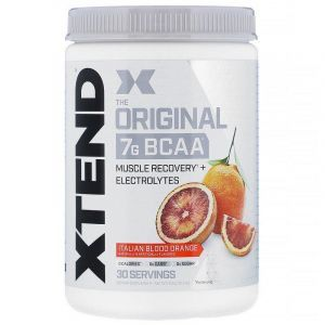 Аминокислоты BCAA, The Original 7G BCAA, XTend, Scivation, красный апельсин, 435 г