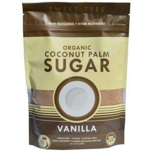 Кокосовый сахар (вкус ванили), Big Tree Farms, 397 г
