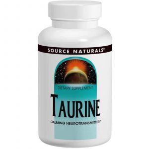 Таурин, Source Naturals, 500 мг, 120 таблеток