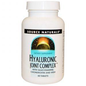 Комплекс с гиалуроновой кислотой, Source Naturals, 60 таб.