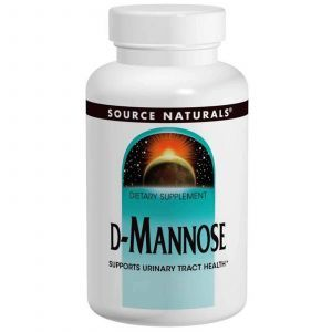 Д-Манноза, Source Naturals, 500 мг, 60 капсул