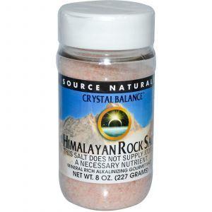 Гималайская каменная соль, Source Naturals, 227 г