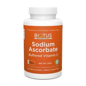 Буферизованный витамин С, Sodium Ascorbate, Biotus, порошок, 227 г