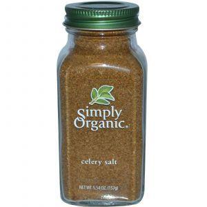 Соль с сельдереем, Celery Salt, Simply Organic, 157 г