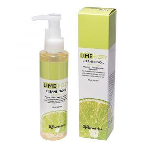 Гидрофильное масло с экстрактом лайма и витамином С, Lime Fizzy Cleansing Oil, Secret Skin, 150 мл