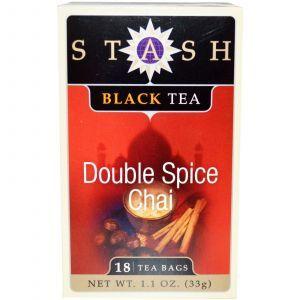 Черный чай высшего сорта, Black Tea, Stash Tea, 18 чайных пакетиков, 33 г