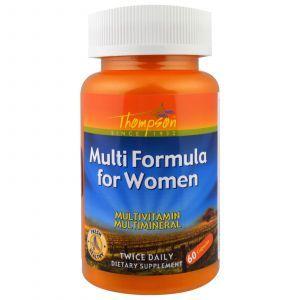 Мульти формула для женщин, Multi Formula, Thompson, 60 кап.