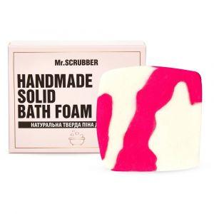Твердая пена для ванн Гуава, Handmade Solid Bath Foam, Mr. Scrubber, в подарочной коробке, 100 г