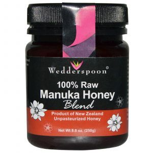 Манука мед (смесь), Wedderspoon Organic, Inc., 250 грамм